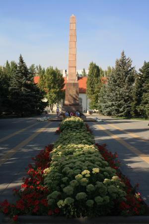 Old Sarepta Museum Reserve: monument