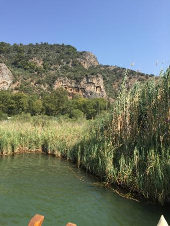 Lycian Rock Tombs: kaunos