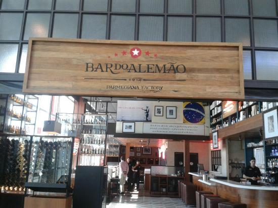 Bar do Alemão Parmegiana Factory: Normal