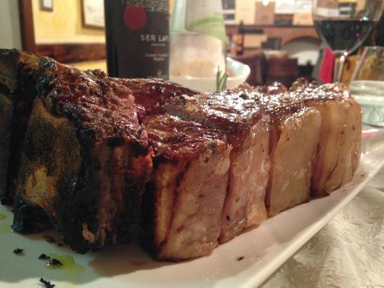 Trattoria Bar Bibo: La nostra bistecca