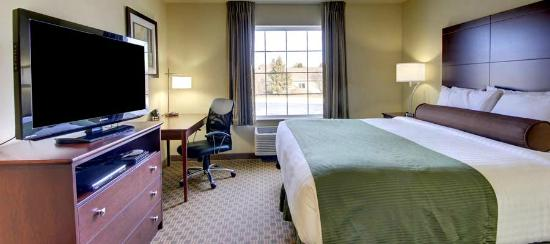 Cobblestone Inn and Suites Hartington: Clean, spacious and inviting rooms!