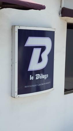 Beluga Restaurant: Insegna