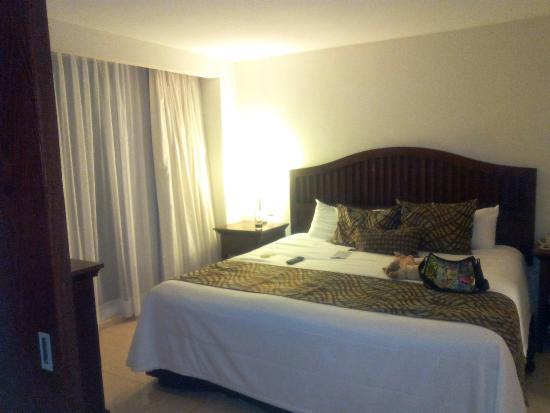 Astur Hotel & Residence: Cenando alitas