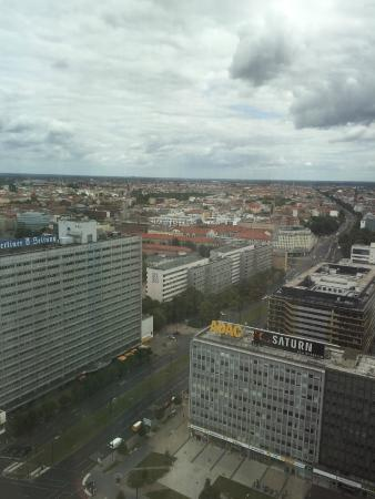 Park Inn by Radisson Berlin Alexanderplatz: view from the room