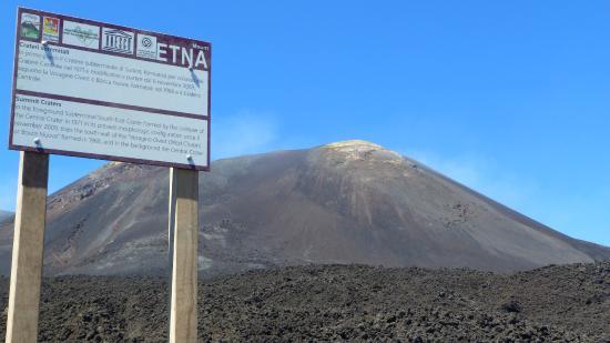 Monte Etna: ZONA ROSSA- FINE DELL'ESCURSIONE SENZA GUIDA