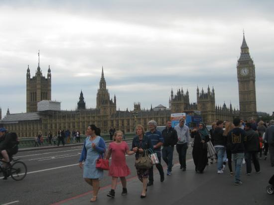 Big Ben en omgeving