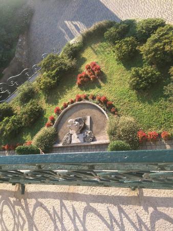 Villa La Mirabella: l'entrée de l'hotel vue du dessus