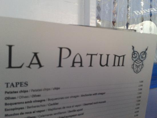 Restaurant La Patum: La Patum: Lo recomiendo!