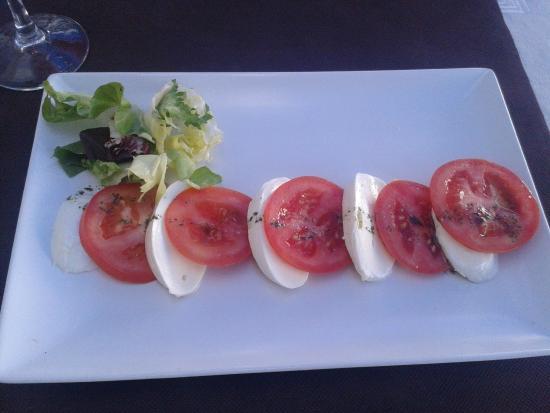 Restaurant La Patum: Ensalada Caprese