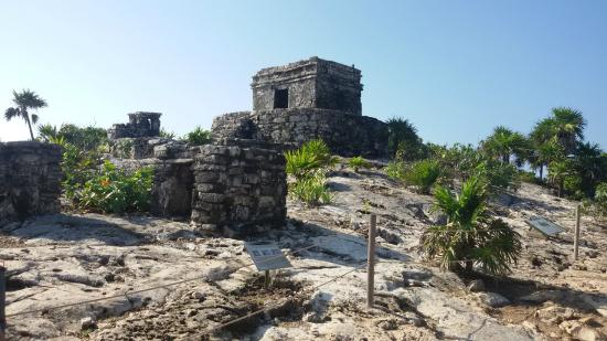 Tulum mayaruiner: Vista Tulum-Ruinas Mayas