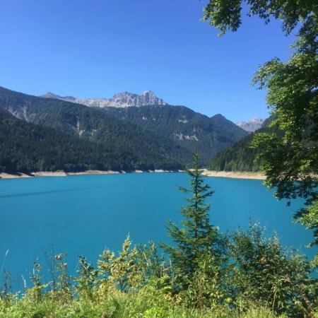 Ristorante Alla Pace: lago di sauris