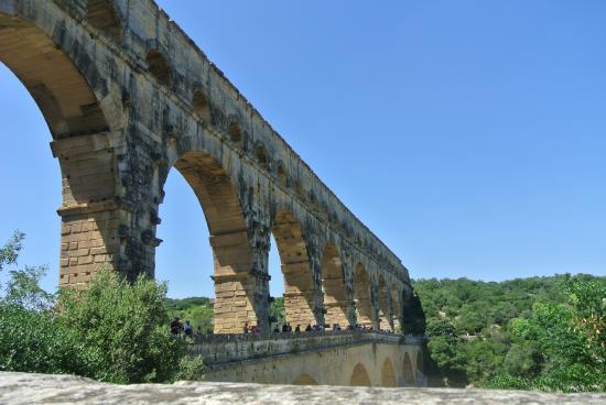 Pont du Gard: l'aqueduc
