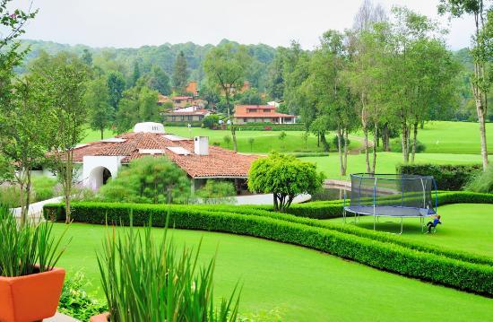 Hotel Avandaro Club de Golf & Spa: Área verde