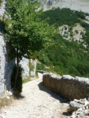 Parc Naturel Regional du Vercors: Chemin des muletiers.Col du Rousset