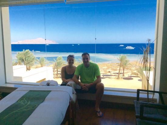 Coral Sea Sensatori - Sharm El Sheikh: In the Bali Spa for a couple massage. 55 mins full body . £80 with £80 worth of free products li