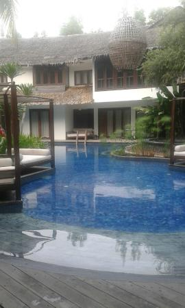 Villa Samadhi: piscina