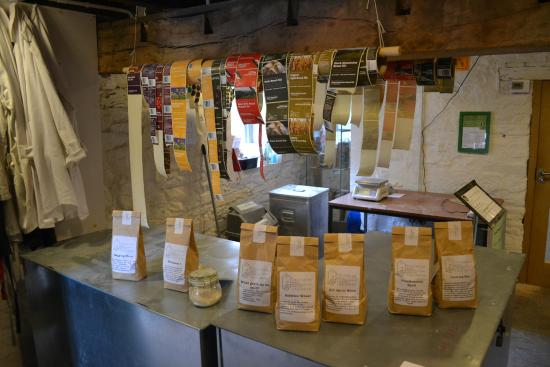 Talgarth Mill: Bagging area - but no unexpected items