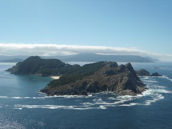 Islas Cies: Vista dal faro
