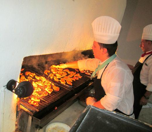 Turquoise Resort Hotel & Spa: grillterasz