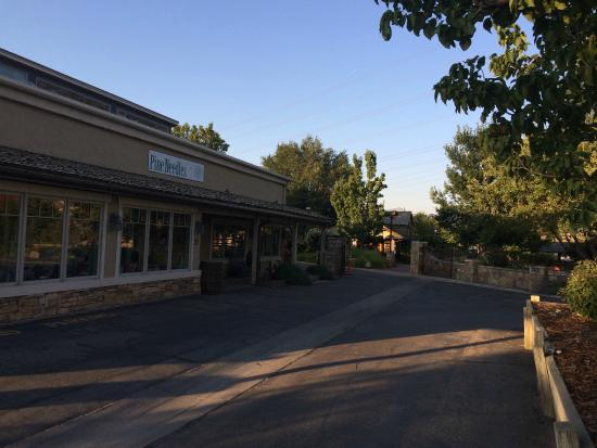 Archibald's Restaurant: part of the village