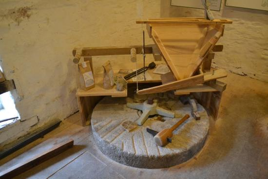 Talgarth Mill: Millstone and other bits and pieces