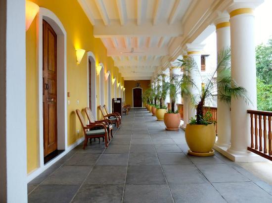 Palais de Mahe: Palais de Mahè ingresso camere