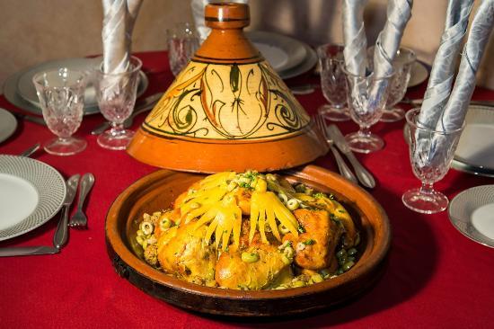 Chems Ayour: Tajine de poulet