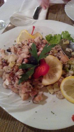 Konoba restoran Galeb: Piatti di mare