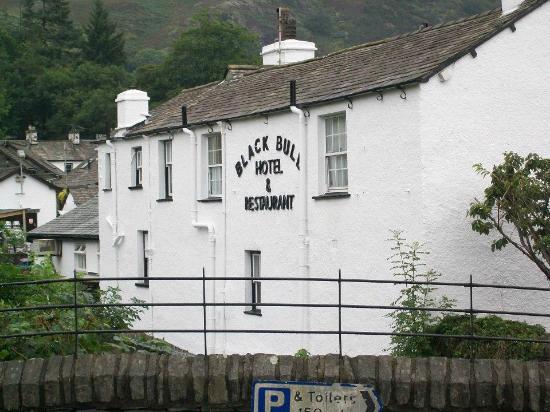 Black Bull Inn and Hotel: The back of the Black Bull