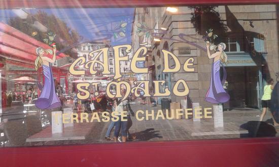 Les Remparts de Saint-Malo: cafe' di Saint-Malo