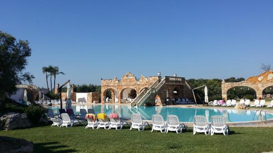 Tenute Al Bano: piscina