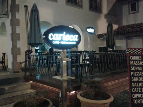 Carioca: Vista do café.