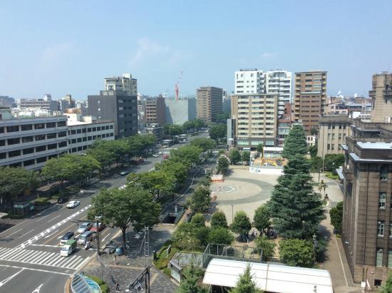 Kyoto Hotel Okura: 部屋から見える光景