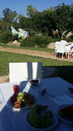 Tenute Al Bano: colazione nella natura