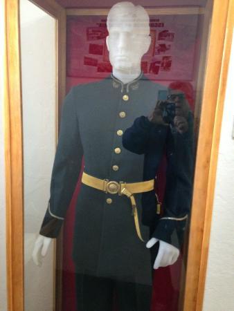 Museo Maritimo y del Presidio de Ushuaia: Farda dos Militares