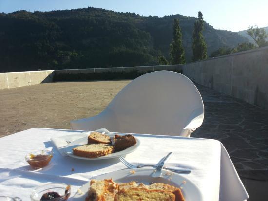 La Reserve Hotel Terme Centro Benessere: Sguardo dalla terrazza colazione