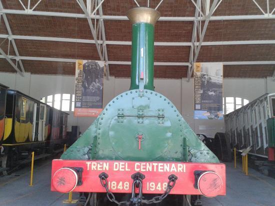 Museu del Ferrocarril: El Tren del Centenario