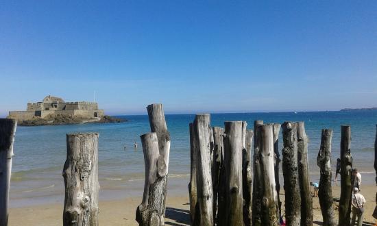 Les Remparts de Saint-Malo: spiaggia