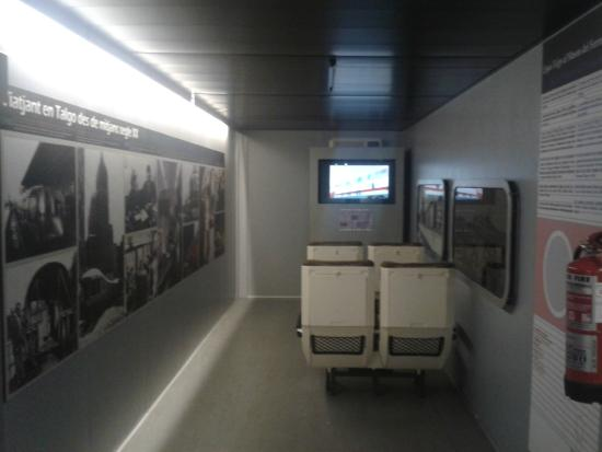 Museu del Ferrocarril: Exposición TALGO