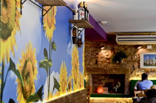 Restaurant Vegetalia: Detalle decoración