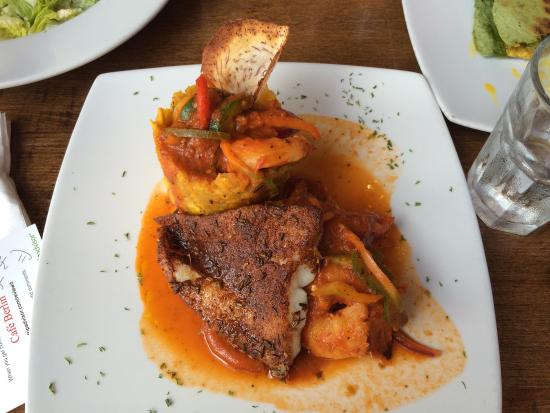 Café Berlin: Delicious seafood mofongo at Cafe Berlin in San Juan, PR