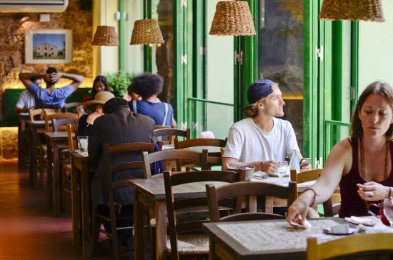 Restaurant Vegetalia: Interior del restaurante