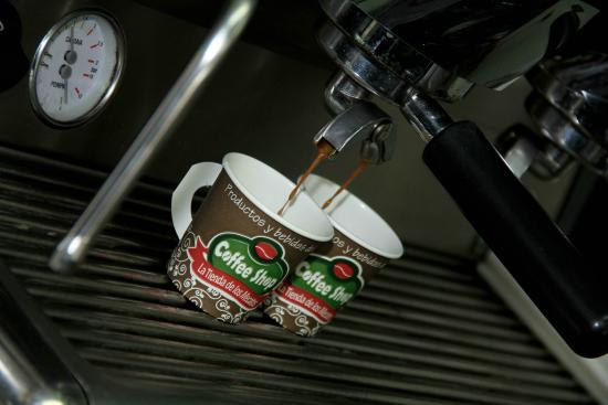Coffee Shop La Tienda de los Mecatos: Espresso