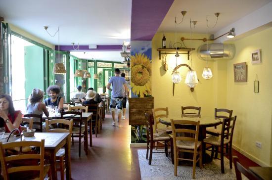 Restaurant Vegetalia: Perspectiva interior