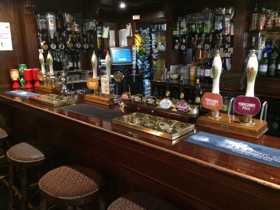 The New Inn: Plenty of drinks to choose from