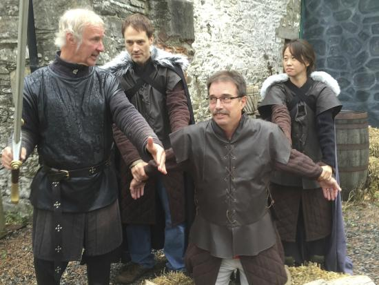 Game of Thrones Tours - Winterfell: Off with his head!