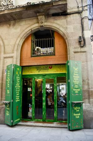Restaurant Vegetalia: Detalle exterior