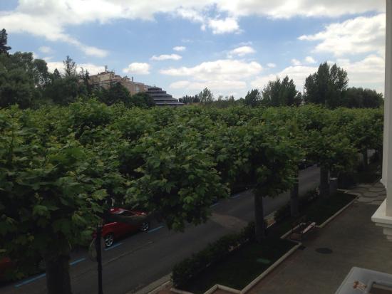 AC Hotel Burgos: Vistas desde la 1 planta