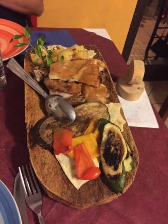 Trattoria La Saletta: Menu degustazione