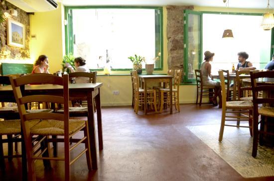 Restaurant Vegetalia: Detalle interior